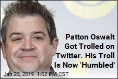 Patton Oswalt Got Trolled on Twitter. His Troll Is Now 'Humbled'