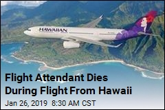 Flight Attendant Dies During Flight From Hawaii