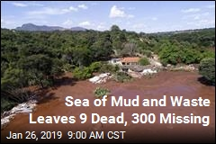 Sea of Mud and Waste Leaves 9 Dead, 300 Missing