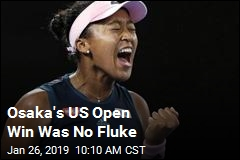 Osaka's US Open Win Was No Fluke