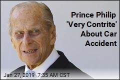 Prince Philip Apologizes to Woman in Accident