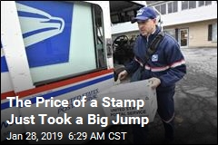 The Price of a Stamp Just Took a Big Jump