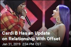 Cardi B on Offset: 'We're Working Things Out, Baby'
