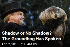 Shadow or No Shadow? The Groundhog Has Spoken