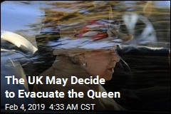 Britain Considers Evacuating the Queen