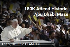 First-Ever Papal Mass Held on Arabian Peninsula