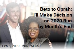 Beto to Oprah: I'll Decide on 2020 Run This Month