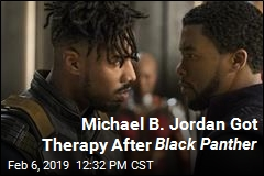 Michael B. Jordan Sought Therapy After Black Panther