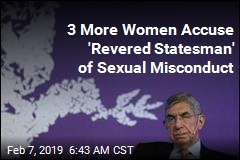 3 More Women Accuse 'Revered Statesman' of Sexual Misconduct