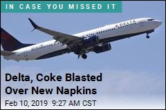 Delta, Coke Apologize Over Phone-Number Napkins