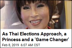 As Thai Elections Approach, a Princess and a 'Game Changer'