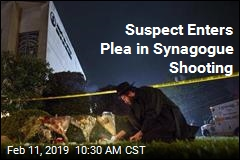 Suspect Enters Plea in Synagogue Shooting
