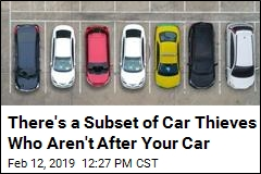 There's a Subset of Car Thieves Who Aren't After Your Car