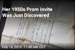 Her 1950s Prom Invite Was Just Discovered