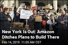 Amazon Scraps Plans to Build HQ in New York