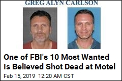 One of FBI's 10 Most Wanted Shot Dead