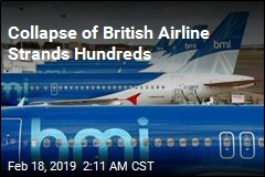 Collapse of British Airline Strands Hundreds