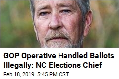 GOP Operative Handled Ballots Illegally: NC Elections Chief