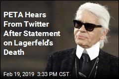 PETA Gets an Earful After Its Response to Karl Lagerfeld's Death