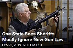 Over 50% of Sheriffs Ignore New Gun Law