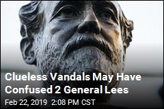 Vandals Apparently Attack Wrong General Lee Statue