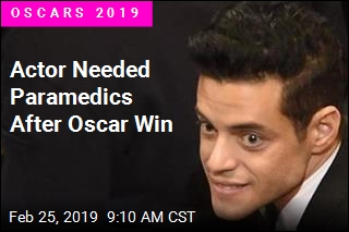 Actor Needed Paramedics After Oscar Win