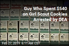 Guy Who Spent $540 on Girl Scout Cookies Arrested by DEA