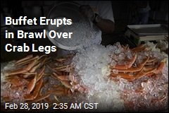 2 Arrested After Brawl Over Crab Legs
