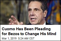 Cuomo Has Been Pleading for Bezos to Change His Mind