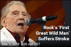 Rock's 'First Great Wild Man' Suffers Stroke