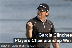 Garcia Clinches Players Championship Win