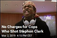 No Charges for Cops Who Shot Stephon Clark