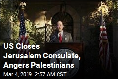 US Closes Jerusalem Consulate, Angers Palestinians