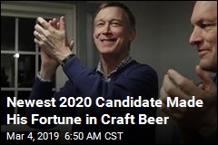 Newest 2020 Candidate Made His Fortune in Craft Beer