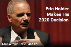 Eric Holder: I'm Not Running