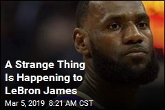 A Strange Thing Is Happening for LeBron James