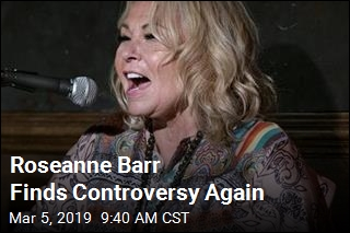 Roseanne Barr Finds Controversy Again