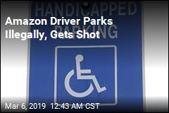 Amazon Driver Shot After Parking in Handicapped Spot