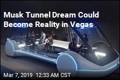 Las Vegas Wants Musk to Build a Tunnel