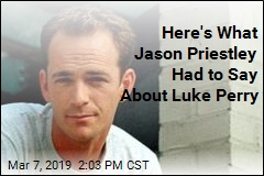 Here's What Jason Priestley Had to Say About Luke Perry