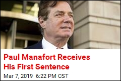 Paul Manafort Receives His First Sentence
