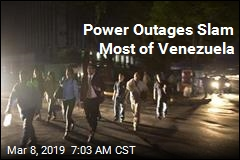 Nationwide Blackouts Tumble Venezuela Into Darkness