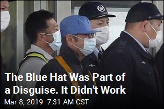 The Blue Hat Was Part of a Disguise. It Didn't Work