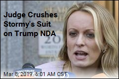 Judge Crushes Stormy's Suit on Trump NDA