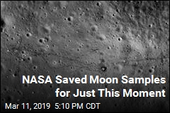 NASA Saved Moon Samples for Just This Moment