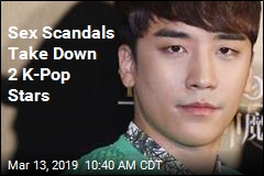Sex Scandals Take Down 2 K-Pop Stars