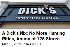 What You Won't Find Anymore at 125 Dick's: Hunting Rifles