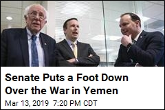 Senate Puts a Foot Down Over the War in Yemen