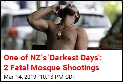 Casualties Reported in NZ Mosque Shootings