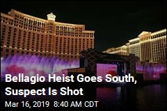 Bellagio Heist Goes South, Suspect Is Shot